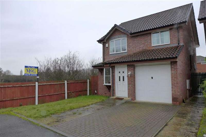 3 Bedrooms Detached House for sale in Brookview Close, Wistaston, Crewe