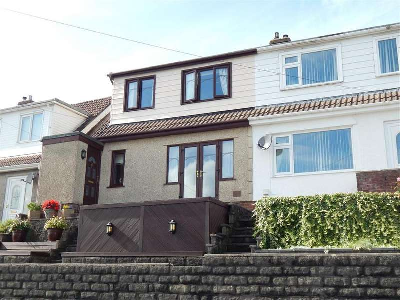 3 Bedrooms Semi Detached House for sale in Trewyddfa Road, Morriston, Swansea