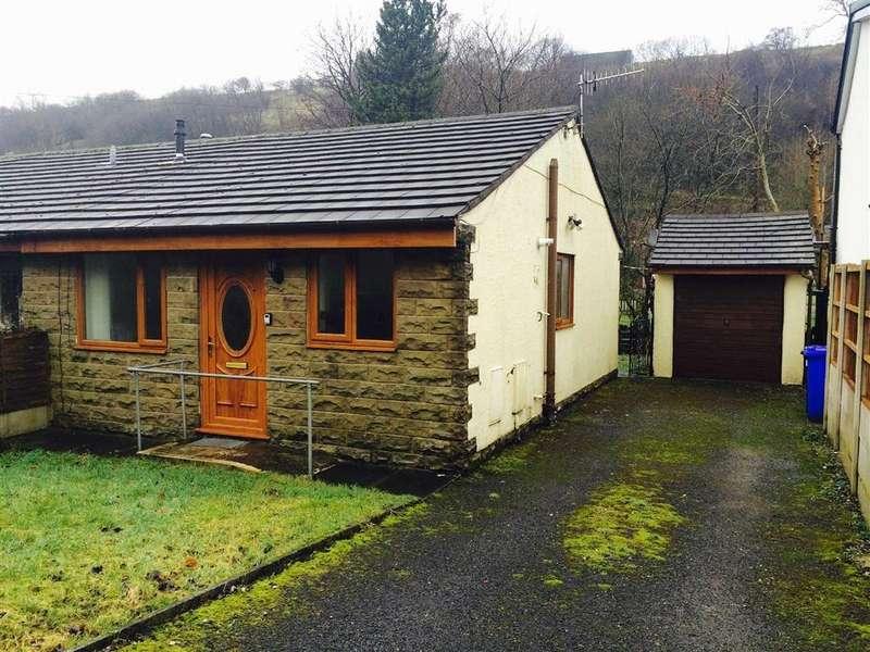 2 Bedrooms Semi Detached Bungalow for sale in Burnley Road East, Rossendale, Lancashire