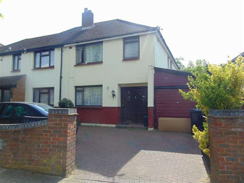 4 Bedrooms Semi Detached House for sale in Bark Hart Road, Orpington, Kent
