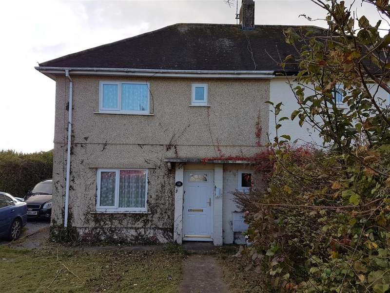 2 Bedrooms Semi Detached House for sale in Brynsierfel, Llanelli