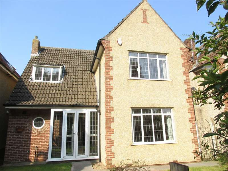 3 Bedrooms Detached House for sale in Rodway Hill Road, Mangotsfield, Bristol