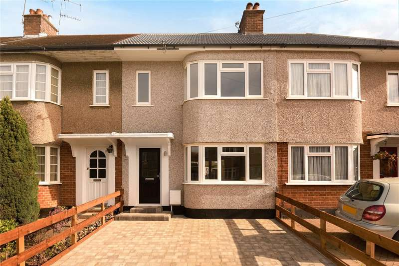 3 Bedrooms Terraced House for sale in Shaldon Drive, South Ruislip, Middlesex, HA4