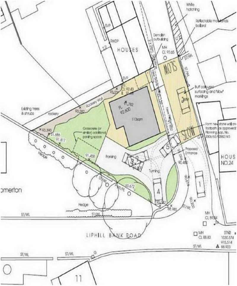 4 Bedrooms Land Commercial for sale in Liphill Bank / Spring Lane, Holmfirth, Holmfirth, HD9