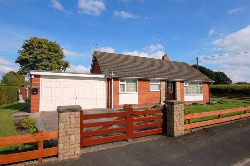 3 Bedrooms Detached Bungalow for sale in Nursery Road, Alsager
