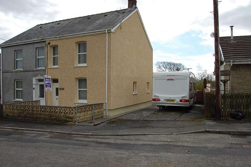 3 Bedrooms Semi Detached House for sale in Park Avenue, Capel Hendre, Ammanford