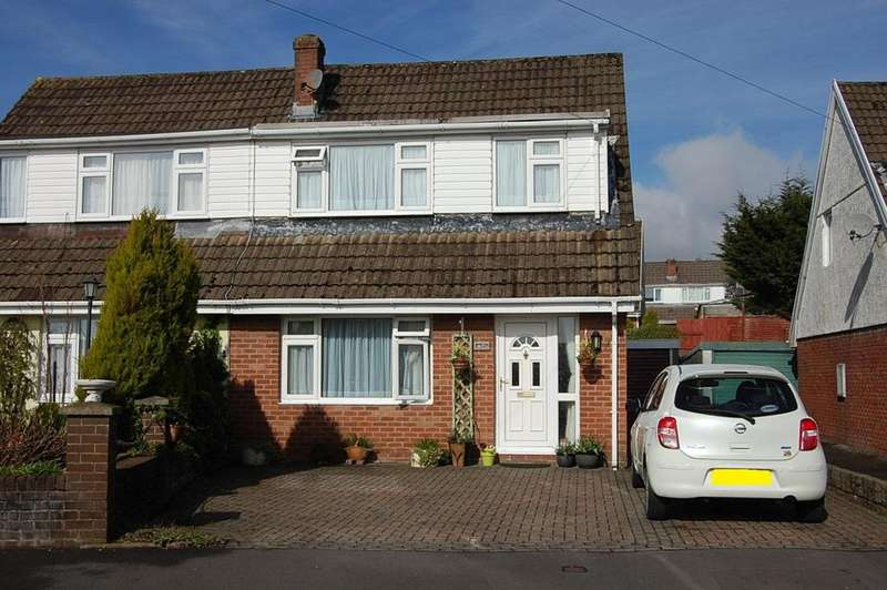 3 Bedrooms Semi Detached House for sale in Teglan Park, Ammanford