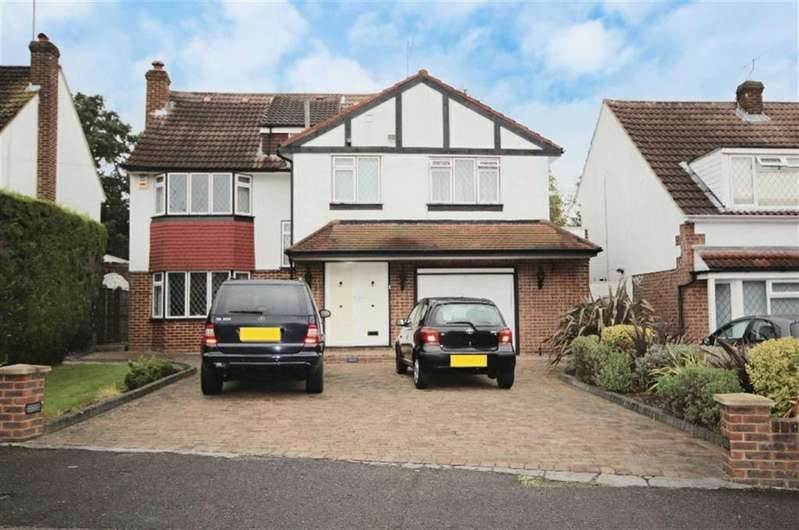 6 Bedrooms Detached House for sale in Grange Road, Elstree, Hertfordshire