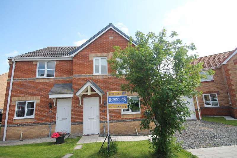 3 Bedrooms Semi Detached House for sale in Oakley Manor West Auckland, Bishop Auckland