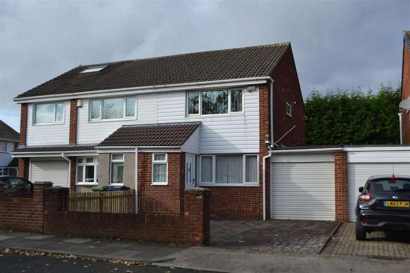 2 Bedrooms Semi Detached House for sale in Shincliffe Avenue, Wear View, Sunderland