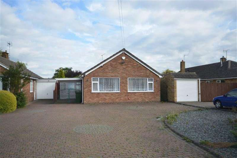 2 Bedrooms Semi Detached Bungalow for sale in Windermere Avenue, Nuneaton
