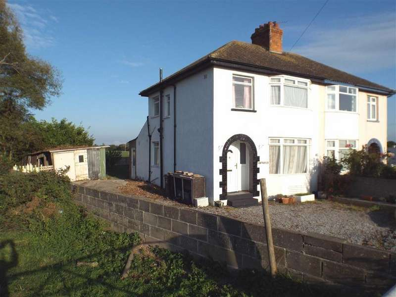 3 Bedrooms Semi Detached House for sale in Bristol Road, Edithmead