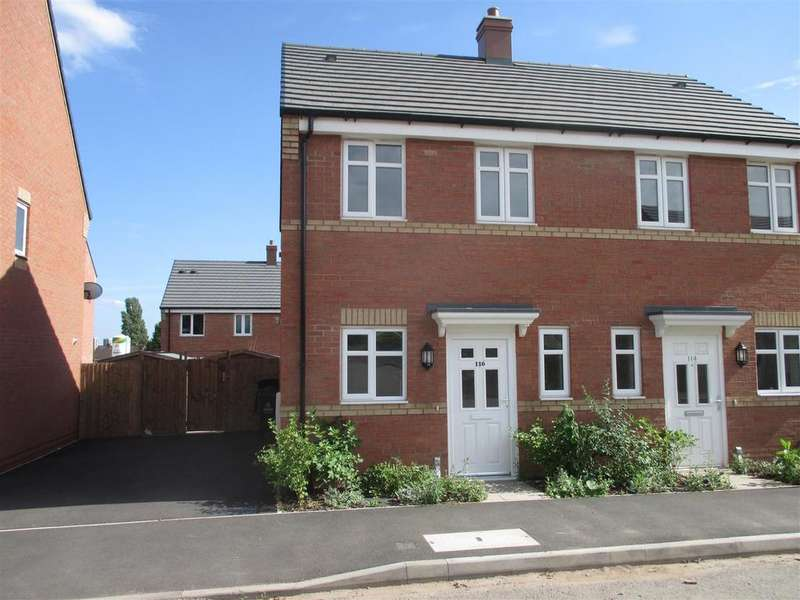2 Bedrooms Semi Detached House for sale in Northumberland Way, Walsall