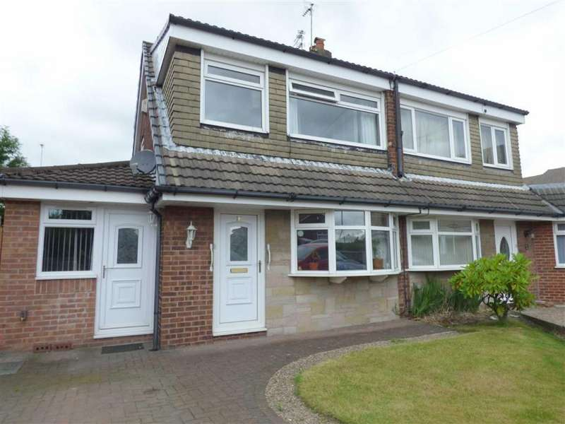 3 Bedrooms Semi Detached House for sale in Liskeard Avenue, Royton, Oldham, OL2