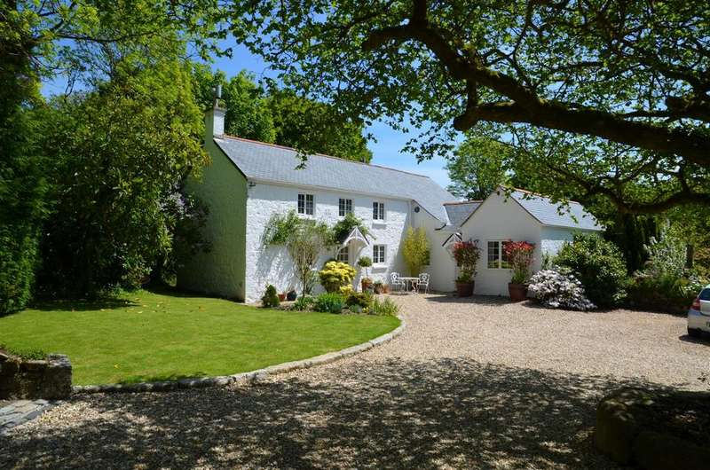 4 Bedrooms Detached House for sale in Bridge Cottage, Eathorne, Falmouth