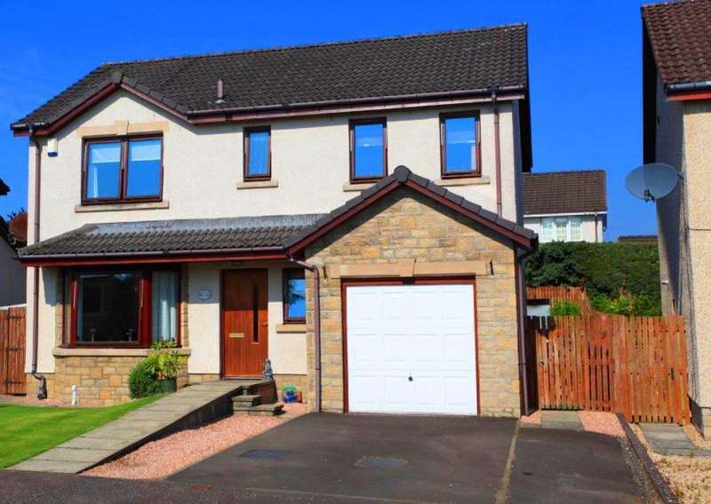 4 Bedrooms Detached House for sale in inchbrakie drive, Crieff ph7