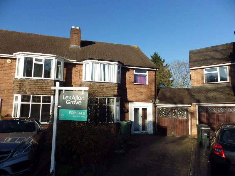 3 Bedrooms Semi Detached House for sale in Kemelstowe Crescent, Halesowen