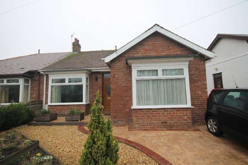 3 Bedrooms Semi Detached Bungalow for sale in West Auckland Road, Shildon