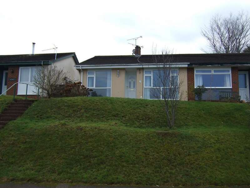 3 Bedrooms Semi Detached Bungalow for sale in Sidelings Fields, Tiverton