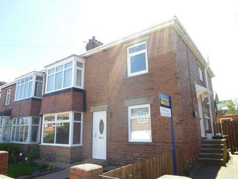 2 Bedrooms Flat for sale in Glanton Road, North Shields