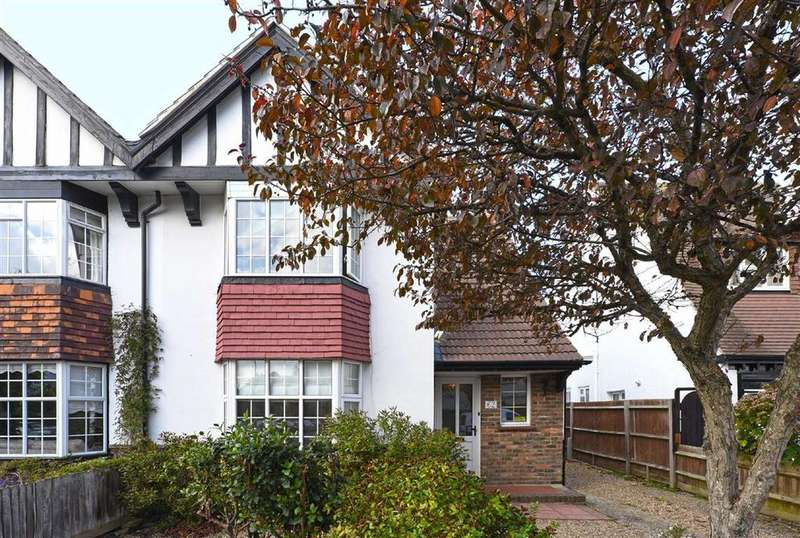 3 Bedrooms Semi Detached House for sale in St Keyna Avenue, Hove