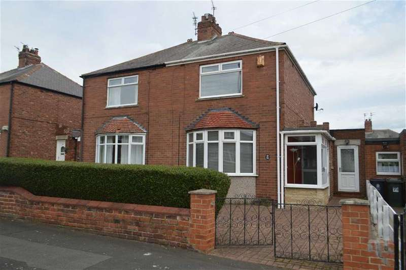 2 Bedrooms Semi Detached House for sale in Hollywell Road, North Shields