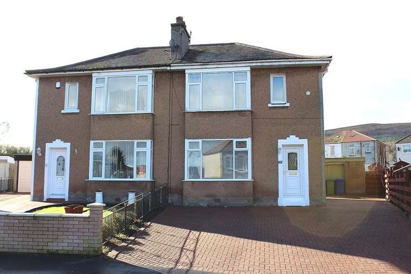 3 Bedrooms Semi Detached House for sale in LOMOND CRESCENT, ALEXANDRIA G83