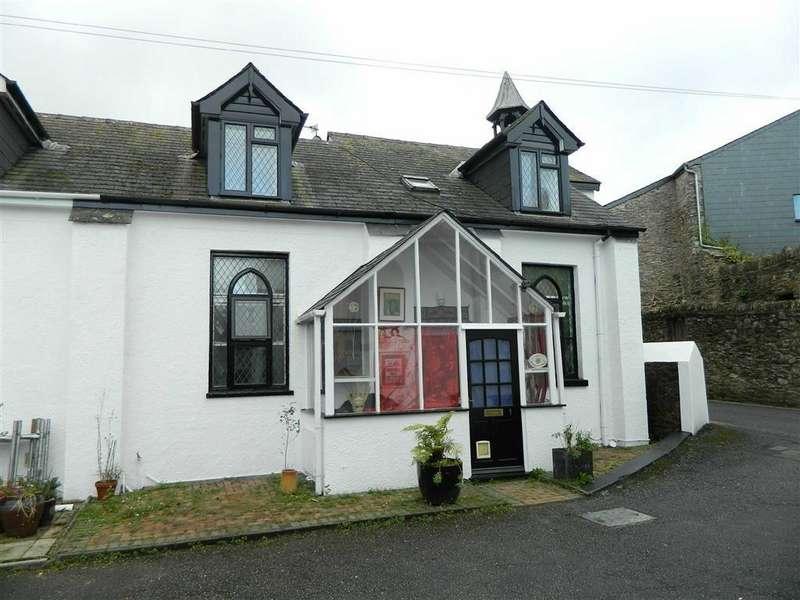 2 Bedrooms Semi Detached House for sale in St Dominics House, South Street, Totnes, Devon, TQ9