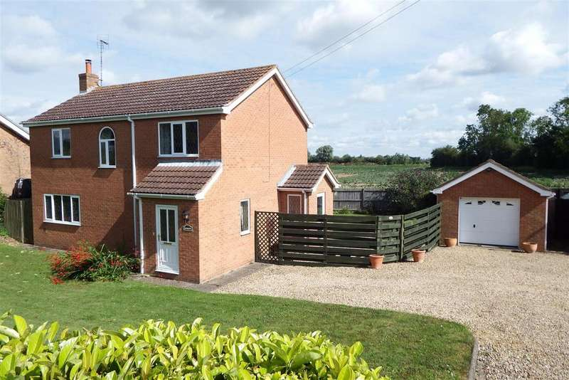 3 Bedrooms Detached House for sale in Hurn Bank, Holbeach Hurn
