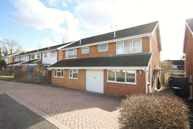3 Bedrooms Semi Detached House for sale in Leabank Drive, Bevere, Worcester