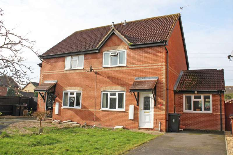 3 Bedrooms Semi Detached House for sale in Roding Way, Didcot