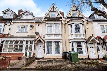 4 Bedrooms Terraced House for sale in Kings Road, Stockland Green, Birmingham, West Midlands