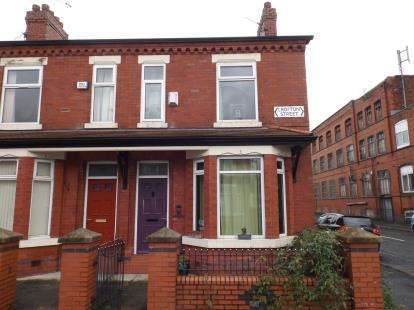3 Bedrooms End Of Terrace House for sale in Crofton St, Rusholme, Manchester