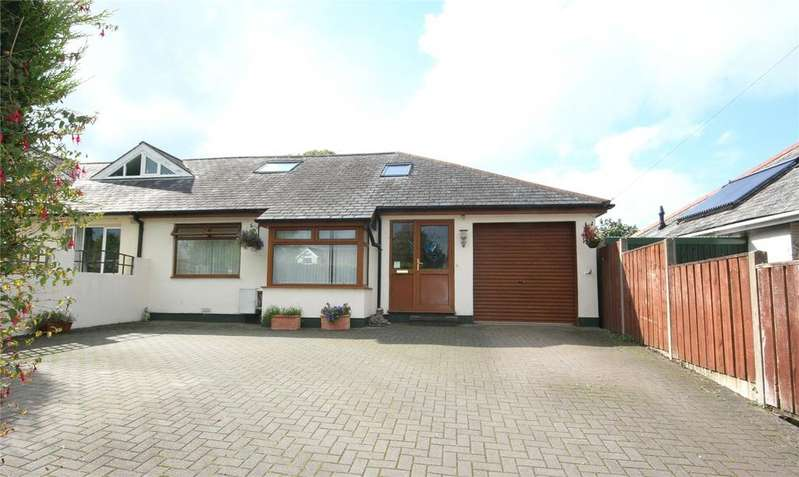4 Bedrooms Semi Detached Bungalow for sale in Flood Street, Stoke Gabriel, Totnes, Devon, TQ9