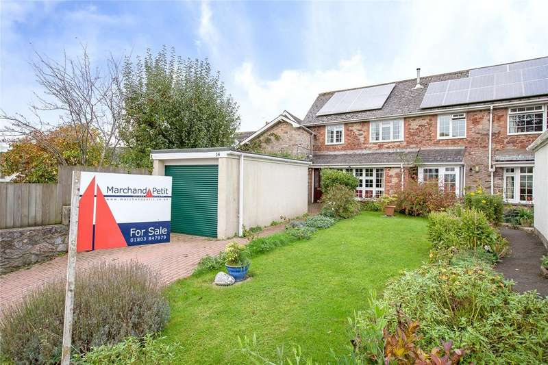 2 Bedrooms Semi Detached House for sale in Kings Orchard, Totnes, TQ9
