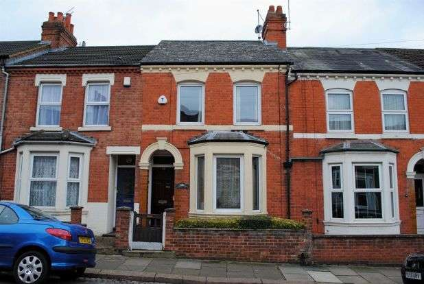 2 Bedrooms Terraced House for sale in Cecil Road, Queens Park, Northampton NN2 6PQ
