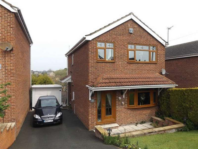 3 Bedrooms Detached House for sale in Woodhall Drive, Healey, Batley, WF17