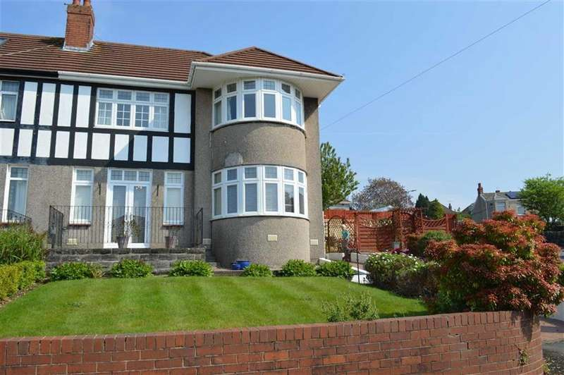 3 Bedrooms Semi Detached House for sale in Glan Yr Afon Gardens, Swansea, SA2