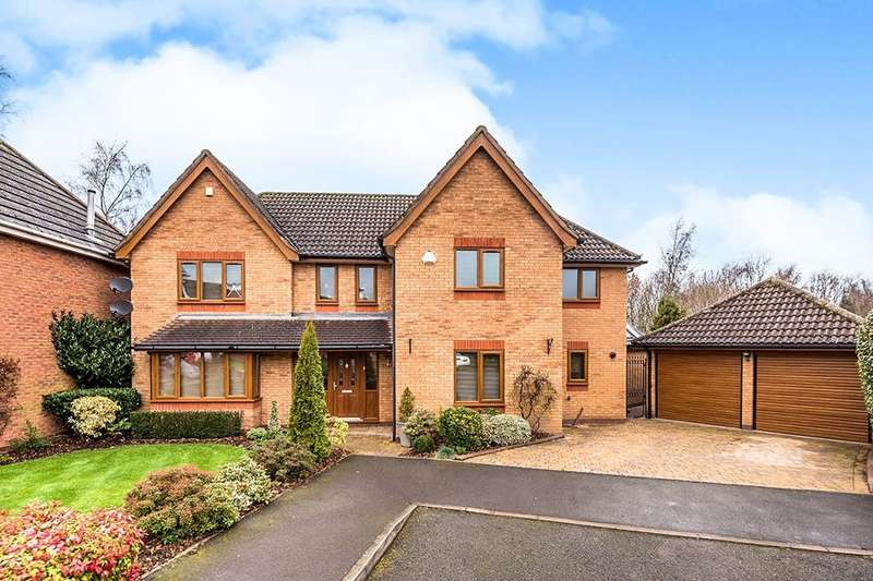 4 Bedrooms Detached House for sale in Harley Close, Telford, TF1