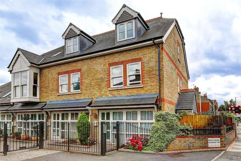 3 Bedrooms Mews House for sale in Marylebone Gardens, Richmond, TW9