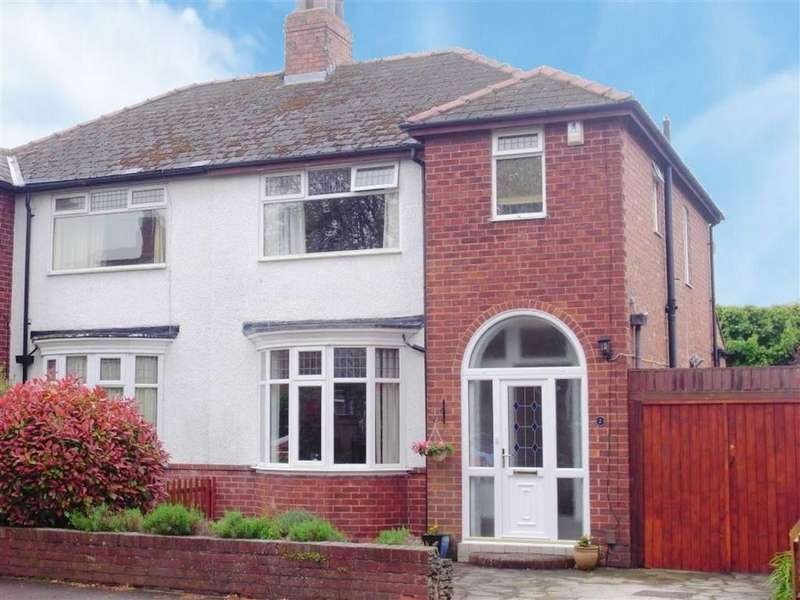 3 Bedrooms Semi Detached House for sale in Farndale Crescent, Darlington