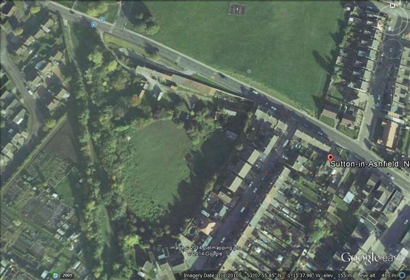 Land Commercial for sale in Residential Building Land, 57, Stoneyford Road, Sutton In Ashfield, Notts