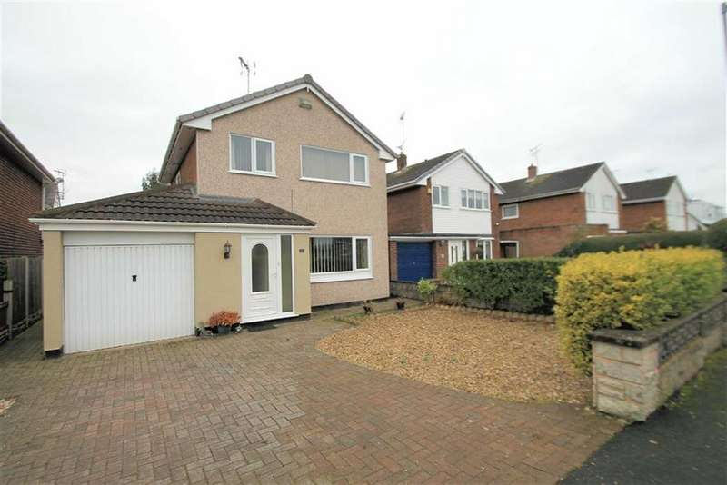 3 Bedrooms Detached House for sale in Ffordd Garmonydd, Acton, Wrexham