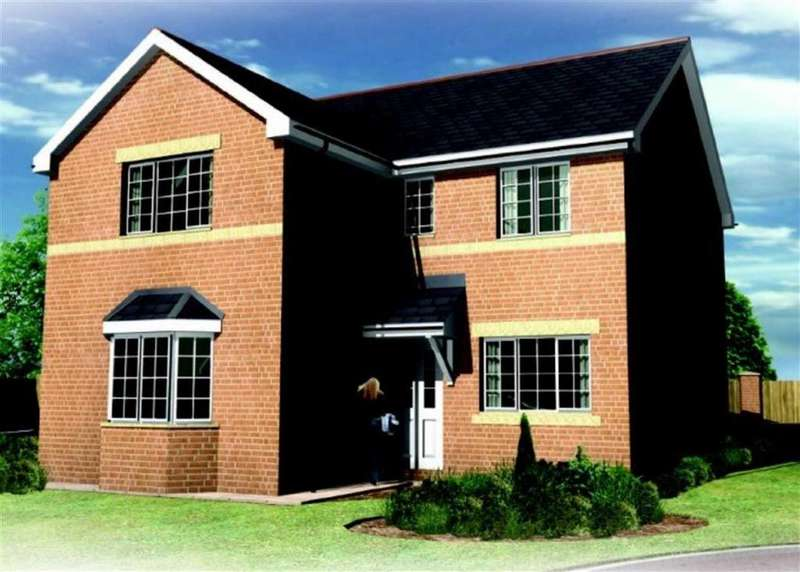4 Bedrooms Detached House for sale in Richmond II, Summerhill, Wrexham