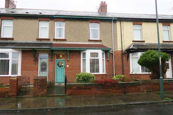 3 Bedrooms Terraced House for sale in Havelock Terrace, Jarrow