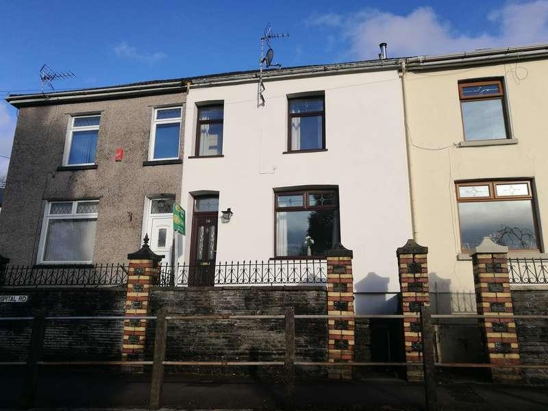 2 Bedrooms Terraced House for sale in Hospital Road, Pontypridd
