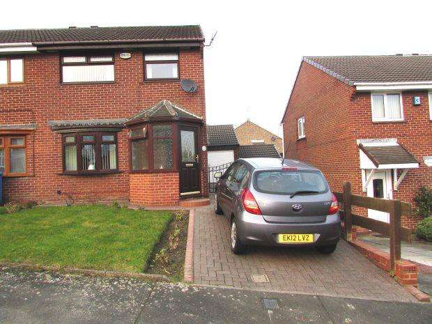 3 Bedrooms Semi Detached House for sale in BOWES AVENUE, SEAHAM, SEAHAM DISTRICT