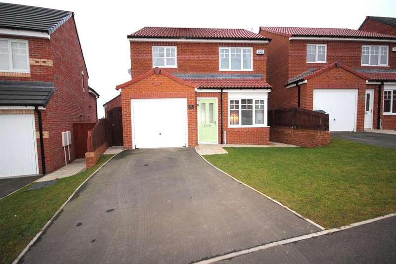 3 Bedrooms Detached House for sale in Crocus Gardens, Hartlepool