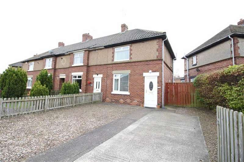 2 Bedrooms End Of Terrace House for sale in Green Crescent, Cramlington, Northumberland
