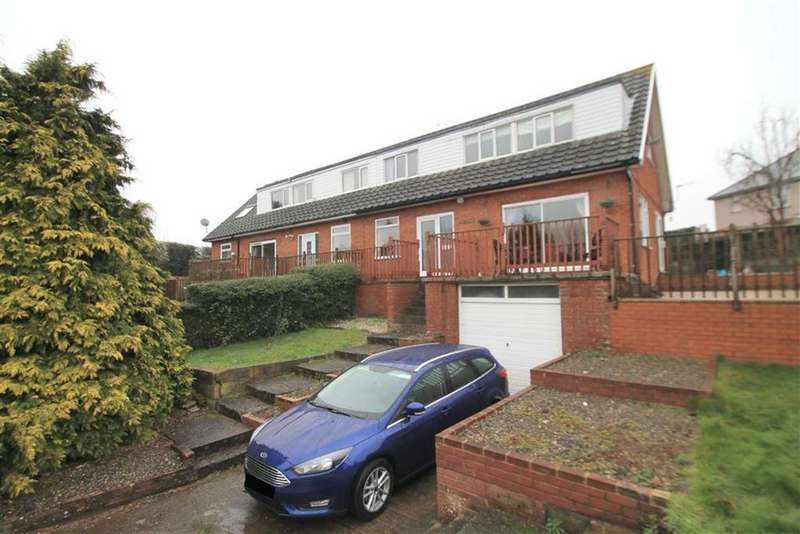 4 Bedrooms Semi Detached House for sale in Sarn Lane, Hope, Wrexham